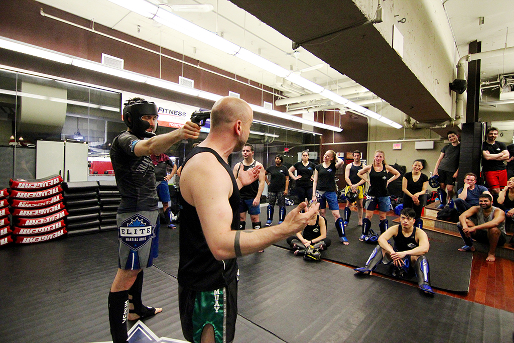 Krav Maga training classess in Toronto