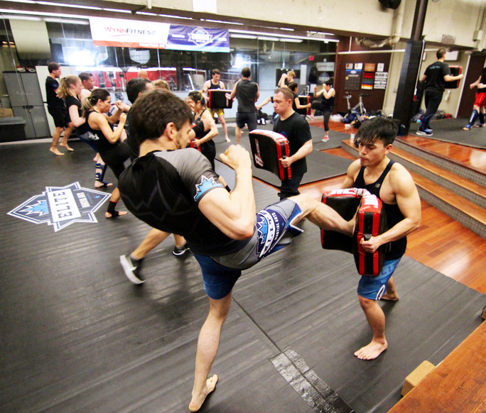 Tired of the same boring workout routines?  Try Krav Maga at EMA.